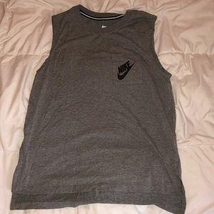 Gray Nike Tank Top